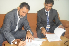 MOU signing between OPEN Karachi & KSBL